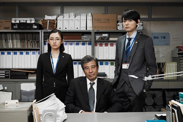 舘ひろし×古川雄輝×星野真里「連続ドラマW 60 誤判対策室」キャストコメント