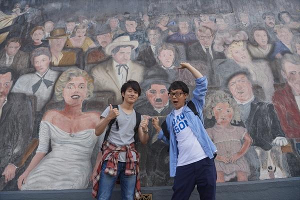 村井良大&佐藤貴史が「ターミネーター」「ラ・ラ・ランド」のロケ地へ!『俺旅。』第8回2・27放送