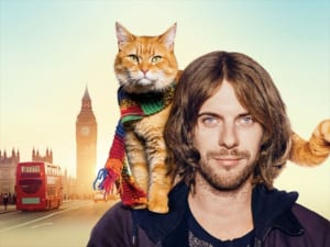 映画「ボブという名の猫 幸せのハイタッチ」