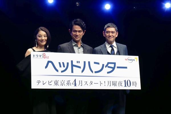 テレ東にビジネスドラマ枠誕生!第1弾は江口洋介主演『ヘッドハンター』