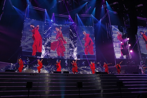 """三代目JSBのライブツアー""""UNKNOWN METROPOLIZ""""dTVで独占配信"""