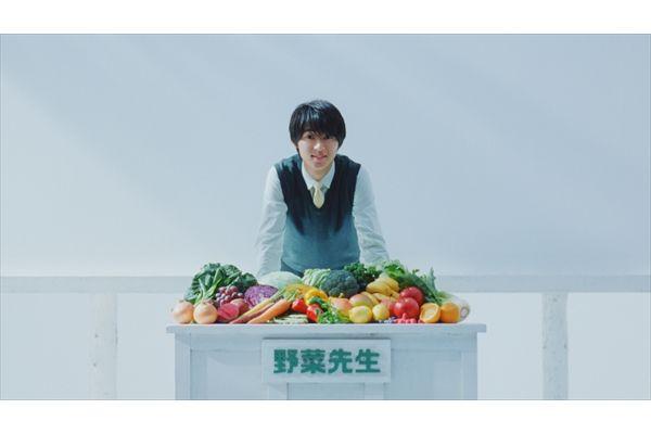 山﨑賢人がさわやかな先生に!カゴメ「野菜生活100」新CM 3・1オンエア