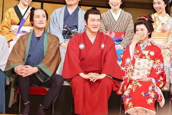 松岡茉優、中村獅童&TOKIO 松岡昌宏は「やさしい兄貴!」舞台『江戸は燃えているか』3・3開幕
