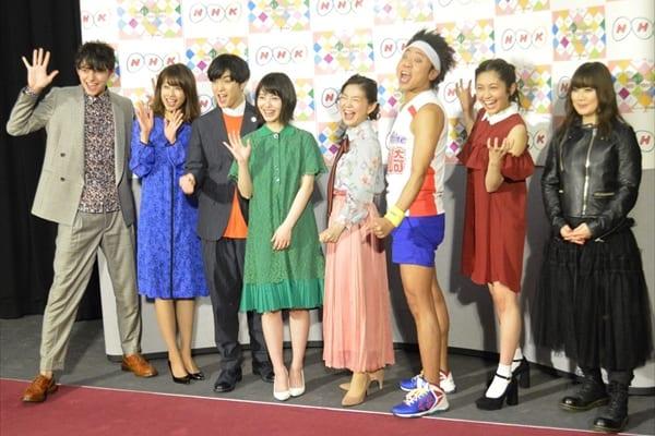 サンシャイン池崎、NHKで大暴れ!千葉雄大、浜辺美波、加藤綾子も「イェーーイ!」