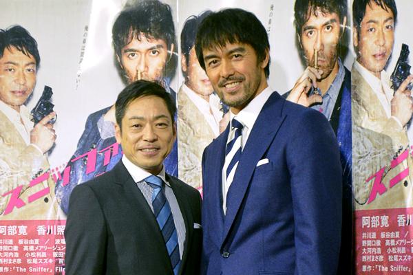 香川照之が阿部寛を絶賛「阿部さんは日本一のコメディアン」ドラマ『スニッファー』続編で再タッグ