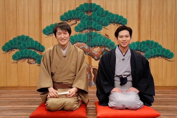 千原ジュニアと加藤シゲアキがオリジナル落語を披露!『旅する落語』4・1放送