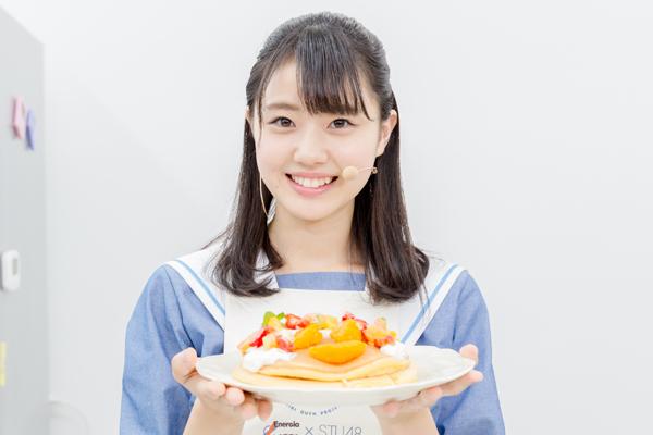 STU48 瀧野由美子らがパンケーキ作りに挑戦!