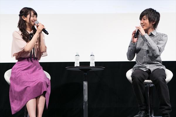 W主演・芹澤優&上西哲平のやりとりにほっこり!アニメ『3D彼女』先行上映会