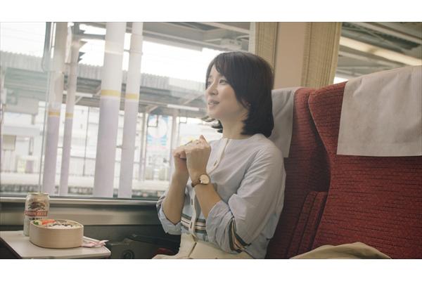 """石田ゆり子""""ちょっぴりおあずけ""""の理由がカワイイ!"""