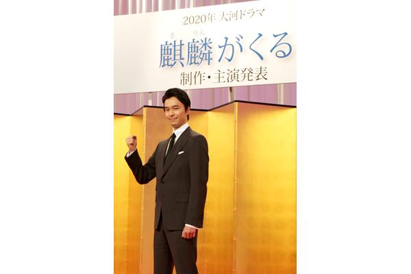 長谷川博己「今の日本に必要な人材だと思えるような光秀に」2020年大河『麒麟がくる』主演