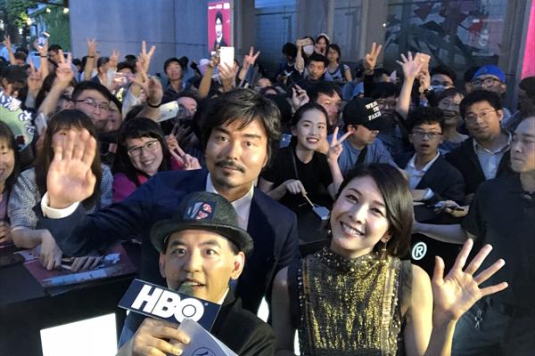 竹内結子&小澤征悦に大歓声!台湾で「ミス・シャーロック」Wプレミア開催