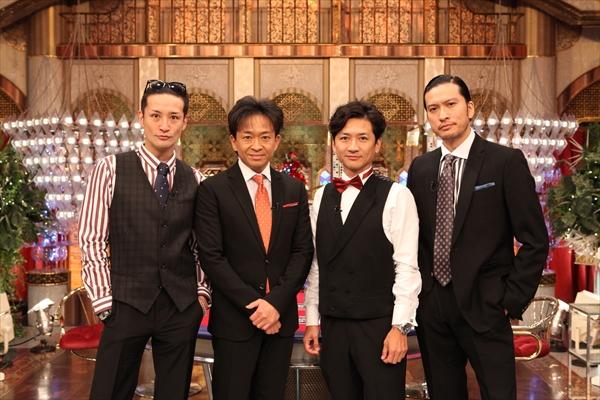 『TOKIOカケル』でTOKIO4人の初収録「力を合わせて頑張ってまいります」