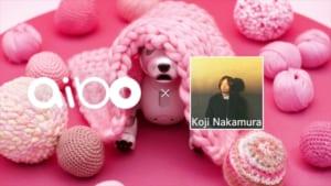 「aibo×Koji Nakamura」