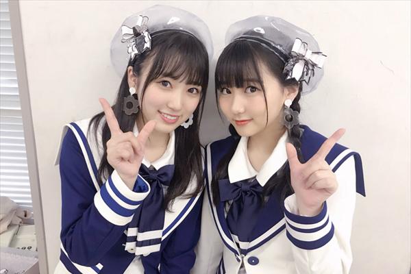 """HKT48・矢吹奈子&田中美久""""なこみく""""初Wセンター曲『Mステ』で披露"""