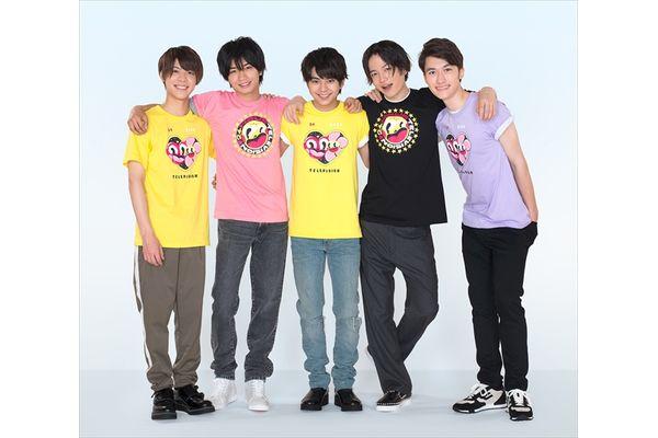 『24時間テレビ』チャリTシャツは初の2デザイン!Sexy Zone5人揃ってのチャリTシャツ姿も初披露