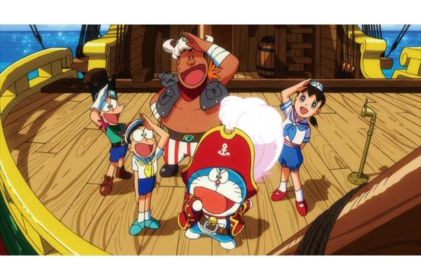 星野源の主題歌&挿入歌が超名曲!『映画ドラえもん のび太の宝島』BD&DVD 8・1発売