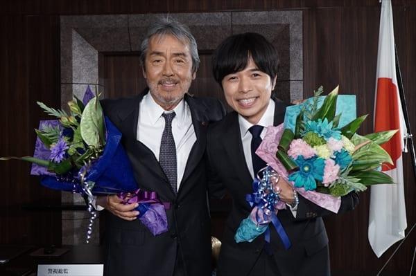 V6・井ノ原快彦『特捜9』涙の撮了で寺尾聰に感謝「力になりました」