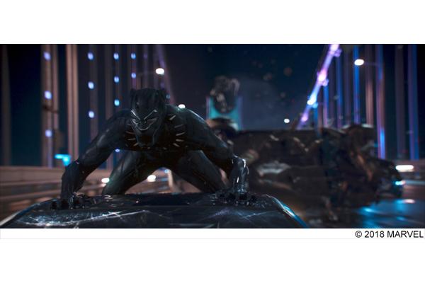 映画「ブラックパンサー」ド派手アクションのメイキング映像公開