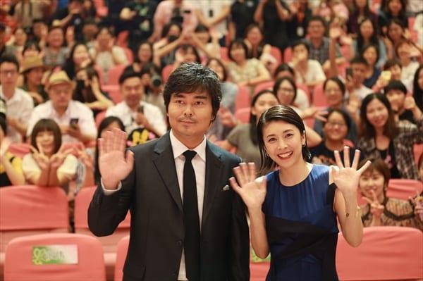 竹内結子、上海で感無量『ミス・シャーロック』がアジア最大級の国際テレビ祭で特別上映