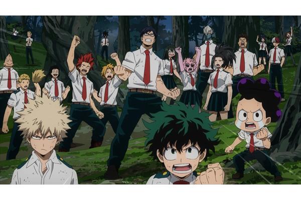 アニメ『僕のヒーローアカデミア』第3期 Huluで7・7配信開始