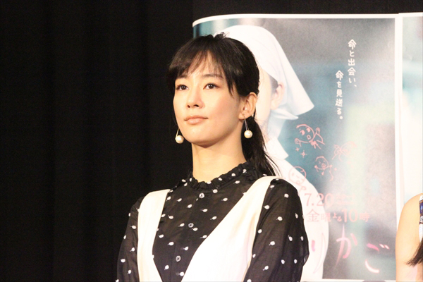 <p>ドラマ10『透明なゆりかご』試写会</p>