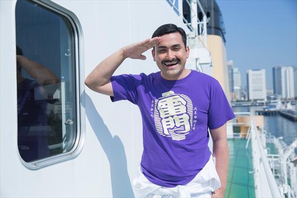 <p>『マジで航海してます。』植野行雄(デニス):フリオ・メンドーサ役</p>