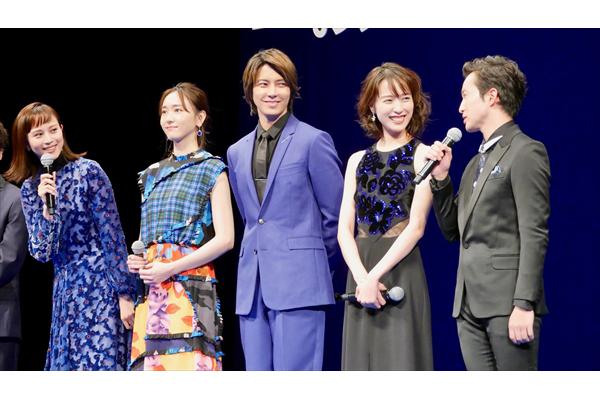 山下智久「本当に胸がいっぱい」『劇場版コード・ブルー』完成披露