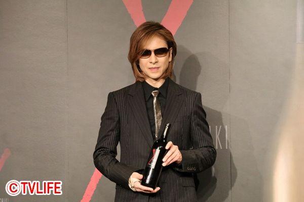 YOSHIKIが新作ワインを発表!「間違いなく一流のワインです」