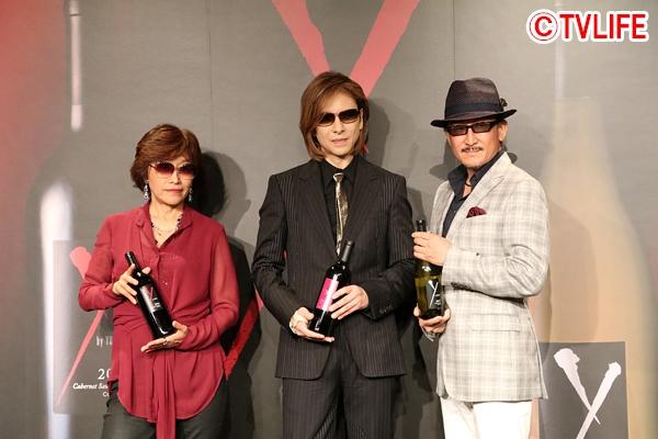 <p>YOSHIKIが新作ワインを発表!「間違いなく一流のワインです」</p>