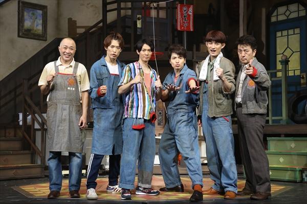 ふぉ~ゆ~、アカペラに手ごたえ!「CDデビュー狙いたい!」舞台『年中無休!』