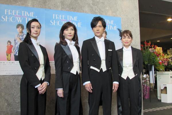 稲垣吾郎「大人がみんなで遊んでる感覚」主演ミュージカル『君の輝く夜に』開幕