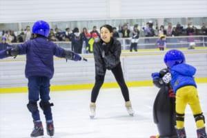 「浅田真央スケート教室」