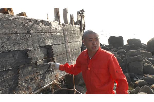 あばれる君が漂着した北朝鮮船!?にガチ潜入『ニッポン漂流物大調査』8・11放送