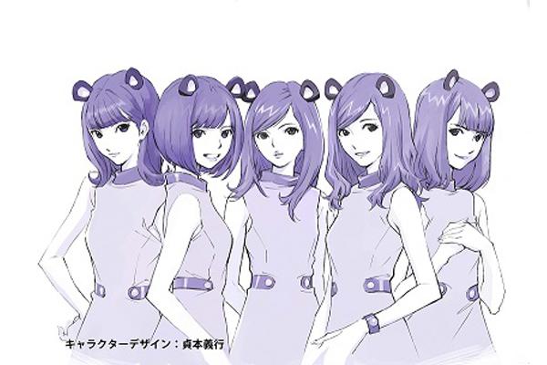 乃木坂46のマウスバンドを貞本義行がアニメ化!8・8一夜限り放送