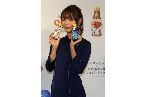 内田理央、第1号に歓喜!「スヌーピー×かけるオイルパフェパーティ2018」