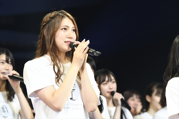 AKB48・茂木忍、101位に「この1年また頑張りたい!」『AKB48グループ感謝祭~ランク外コンサート~』