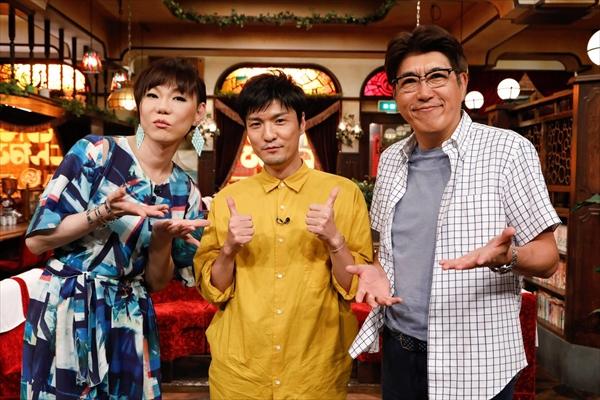 森山直太朗が石橋貴明&ミッツと歌謡曲談義『たいむとんねる』8・20放送