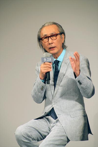 <p>映画「散り椿」完成報告会見</p>