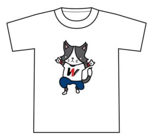 『猫ひた』&『WRESTLE‐1』コラボTシャツ
