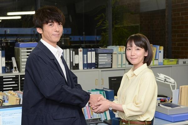 吉岡里帆が高橋一生にエール「ドラマ拝見します!」フジ火9ドラマ主演引継ぎ式