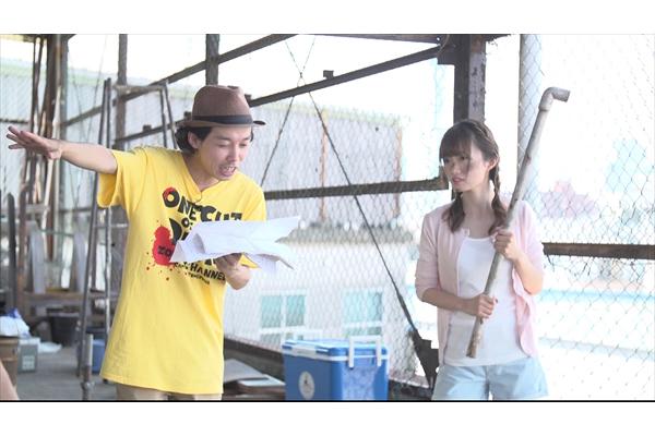 NGT48・中井りか×カメ止め・上田慎一郎監督!「白昼夢 OF THE DEAD」9・16放送
