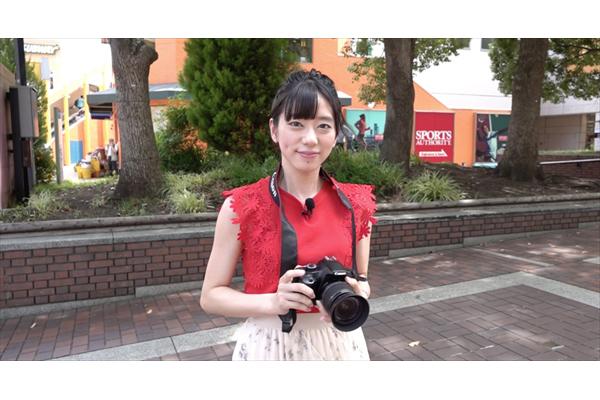 鈴木絵理が多摩センターを散策『声優カメラ旅』9・22配信開始