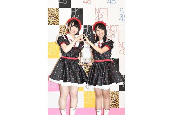 """優勝はAKB48・多田京加&HKT48・松田祐実""""Fortune cherry""""「AKB48じゃんけん大会」"""