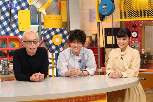 岩田剛典と杉咲花がホームセンターの最新グッズにびっくり『所さんお届けモノです!』9・30放送