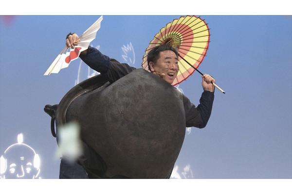 塚地武雅が一人芝居で「ぶんぶくちゃがま」『おはなしのくに』10・22放送