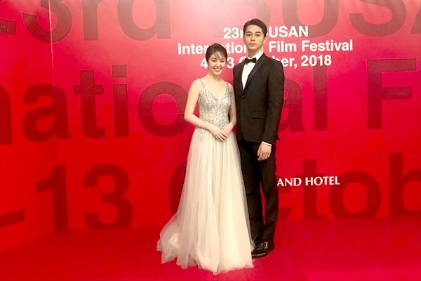 「寝ても覚めても」東出昌大&唐田えりかに大歓声!釜山映画祭レッドカーペット