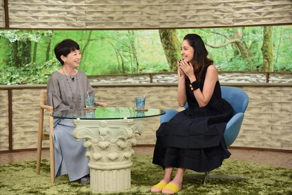 森泉の結婚&出産話に阿川佐和子もビックリ!?『サワコの朝』10・20放送