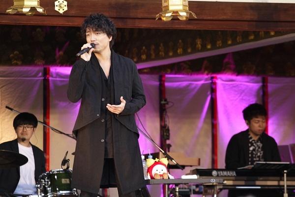 山崎育三郎の「めざましライブ in 北野天満宮」フジテレビTWOで11・25放送