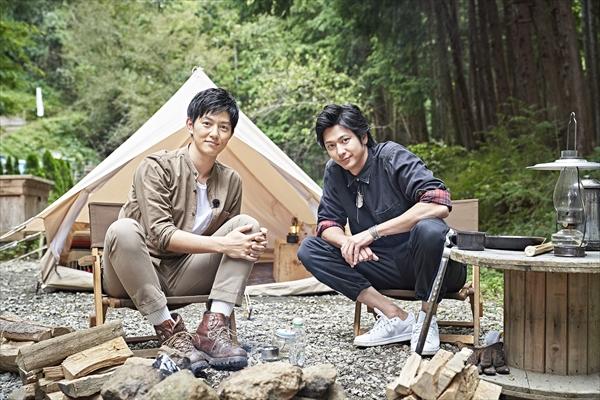 速水もこみちが工藤阿須加を絶品キャンプ料理でおもてなし!
