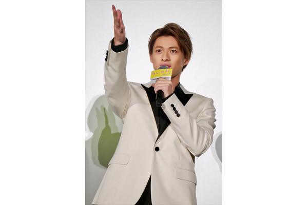 平野紫耀「キュンキュンして肌つやがよくなる」映画「ういらぶ。」舞台あいさつ